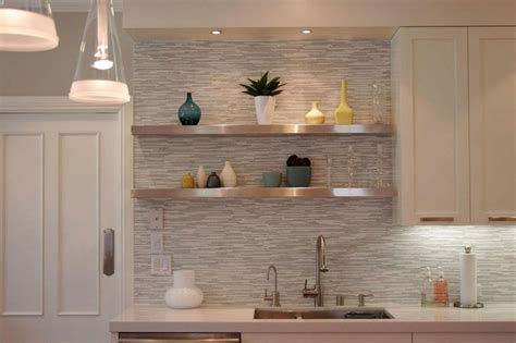 Floating Kitchen Cabinets by Floating Shelves To Maximize The Space In Your Kitchen