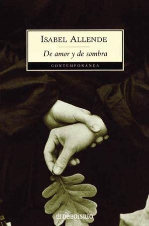 libros resumen de de amor y de sombra