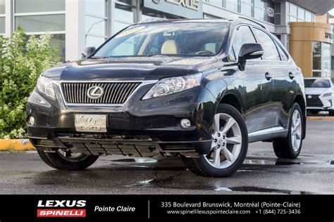 auto body repair training 2010 lexus rx hybrid security system used 2010 lexus rx 350 touring nav cam toit cuir in montreal laval and south shore p1859a