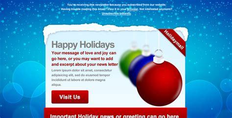 best premium christmas email newsletter templates designmodo