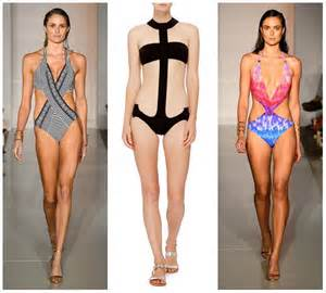 fashionable bathing suits for women spring summer 2016