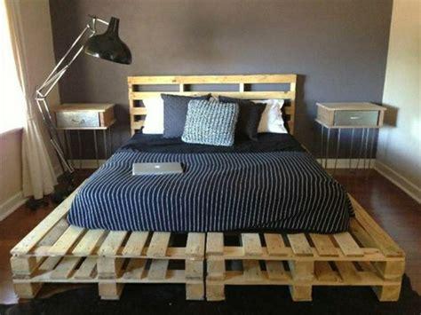 Wie Baue Ich Ein Bett Aus Paletten by Europaletten Bett Ganz Einfach Selber Bauen Ausf 252 Hrliche