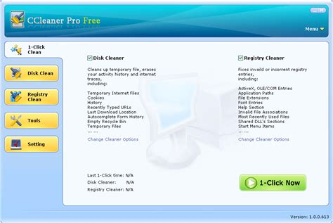 ccleaner virus screenshot review downloads of freeware ccleaner pro free