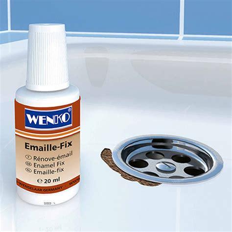 emaille badewanne ausbessern reparaturlack wei 223 f 252 r waschbecken oder badewanne emaille