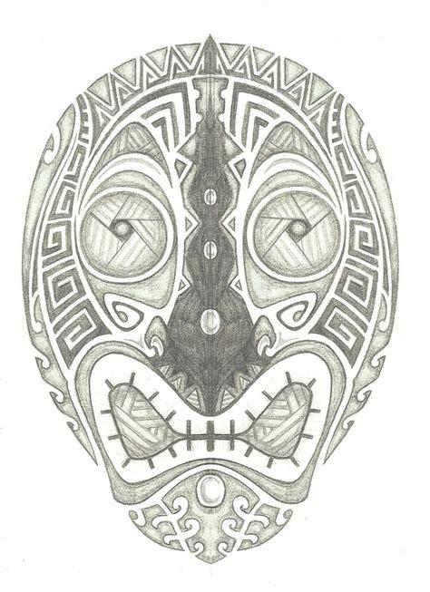 tiki head tattoo tiki concept by helletic hybrid on deviantart