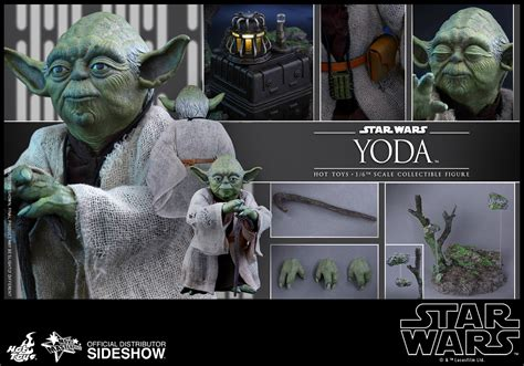Toys Mms369 Wars Episode V Jedi Master Yoda 1 6 Figure toys wars yoda esb sixth scale figure wars