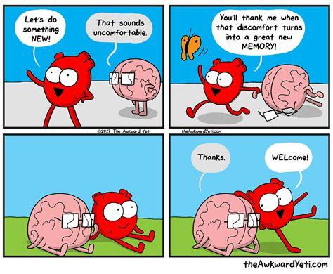 and brain an awkward yeti collection something new