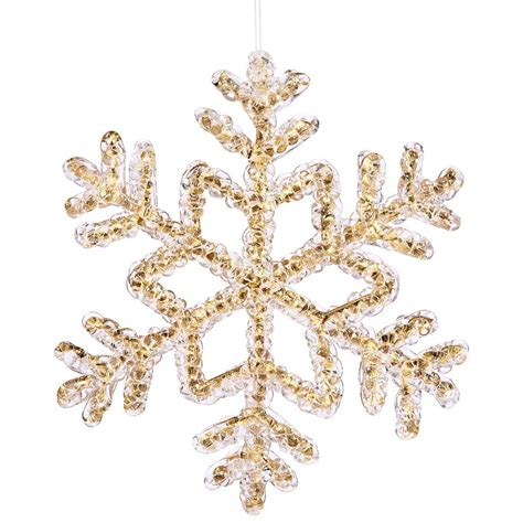 vickerman 24426 8 quot gold crystal snowflake christmas tree