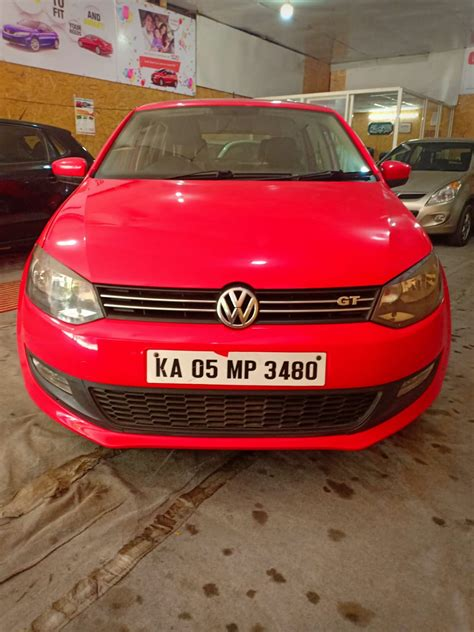 volkswagen polo ltr gt tdi deisel highline driven  kms  dual airbags abs carslivein