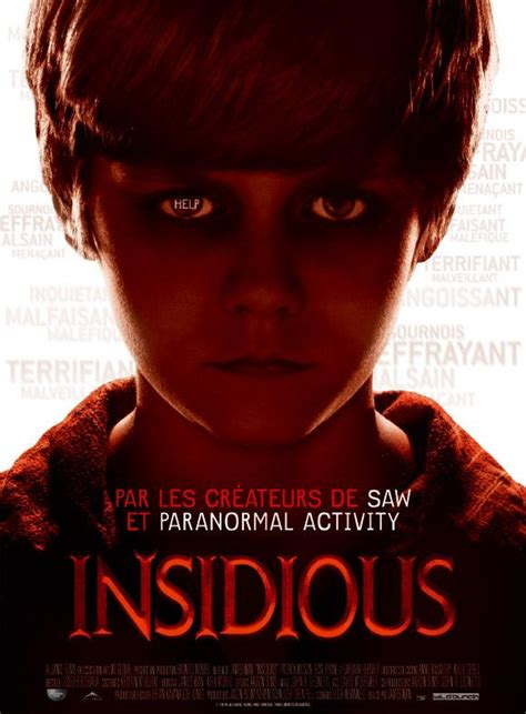 film streaming insidious 3 affiche insidious le film d horreur de james wan
