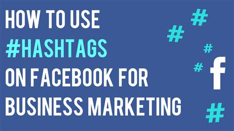 how to use hashtags on pages for business marketing social media marketing tips