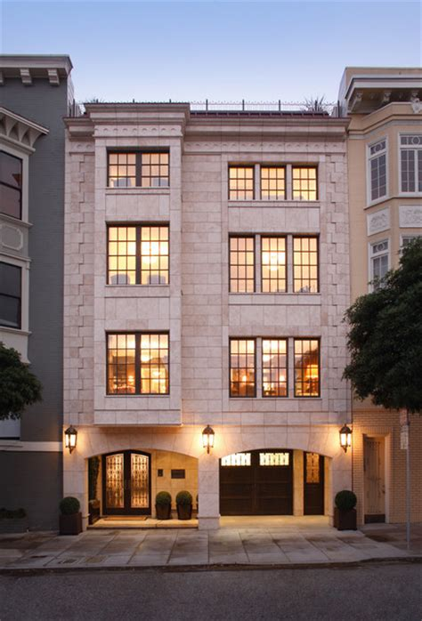 Garage Apartment Plans Classical Twist A Modern Townhouse With Traditional Reference Transitional Exterior San