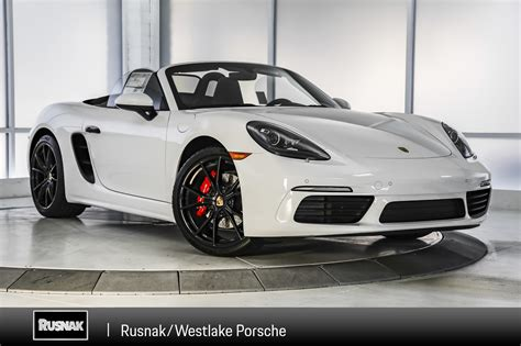 2019 Porsche Boxster S by New 2019 Porsche 718 Boxster S Convertible In Thousand