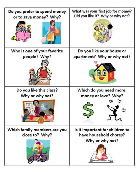 themes for english conversation classes esl conversation cards why or why not fun cards