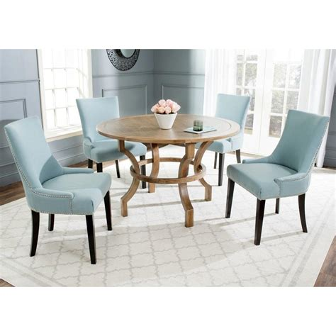 safavieh ludlow oak dining table amh6644a the home depot