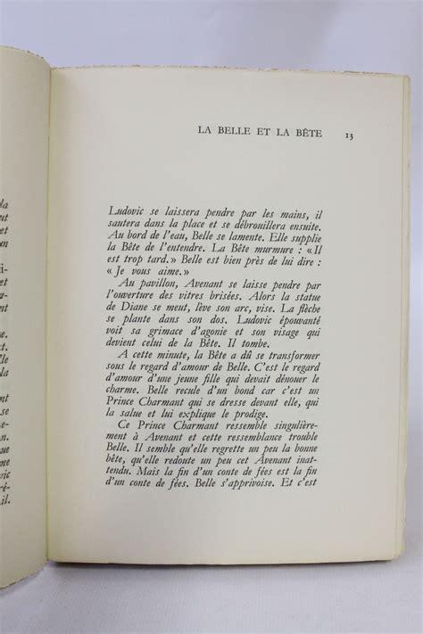 journal dun cur de cocteau la belle et la b 234 te journal d un film edition originale com