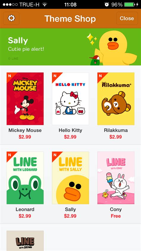 theme line android sally cm hacked new theme line on line theme shop 25 2 2014