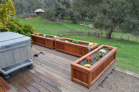 Free Standing Planter Box Plans by Free Standing Planter Box Plans Log Cabin Construction Plans