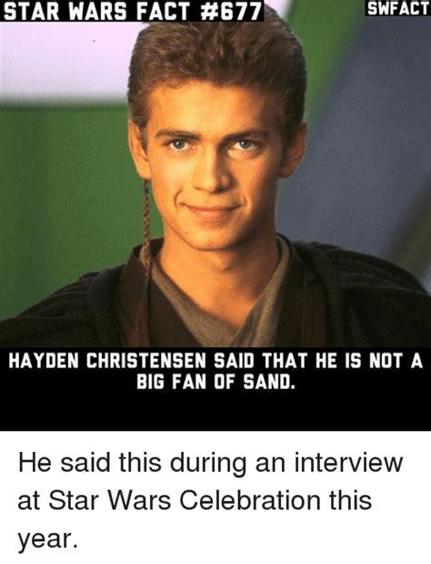 hayden christensen sand 25 best memes about hayden christensen hayden