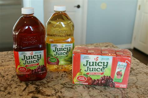 Juicy Juice Instant Win - strawberry peach and apple smoothie it s a lovely life
