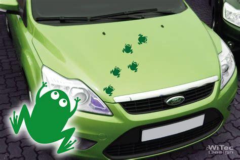 Autoaufkleber Frosch by Autoaufkleber Frosch Fr 246 Sche 5er Set Aufkleber