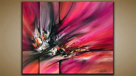 Drawing Or Painting by Abstract Painting Demo 59 Abstract Palette Knife