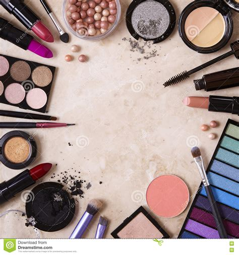 Make A Wall Paper - make up border stock photo image of make lippie