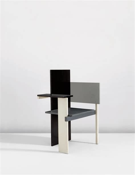 chaise rietveld sold 100 design relics from niemeyer le corbusier flw