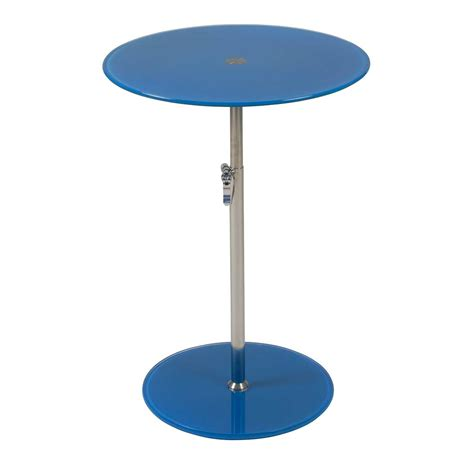 Adjustable Height Side Table by Side Table Adjustable Height Estyle 189 In Clear Tables