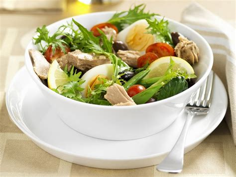 salat rezept nizza salat mit thunfisch rezept eat smarter