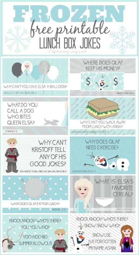 printable children s jokes frozen lunch box jokes capturing joy with kristen duke