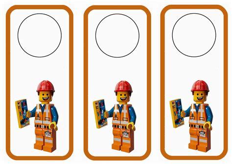 printable lego bookmarks the lego movie door hangers birthday printable