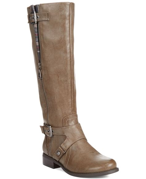 boots for wide g by guess s hertle shaft wide calf