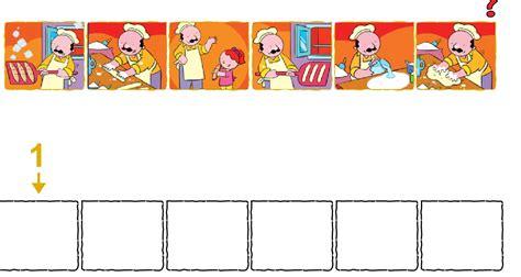 imagenes secuencias temporales para colorear primer ciclo de calera y chozas ordenar secuencias de una