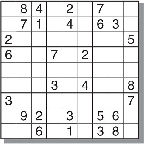printable sudoku crossword puzzles 8 best images of printable sudoku with answers free