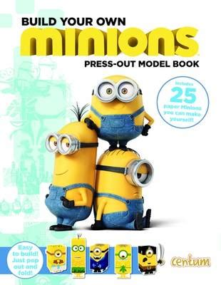 Press Out Model Book build your own minions press out model book the bookseller