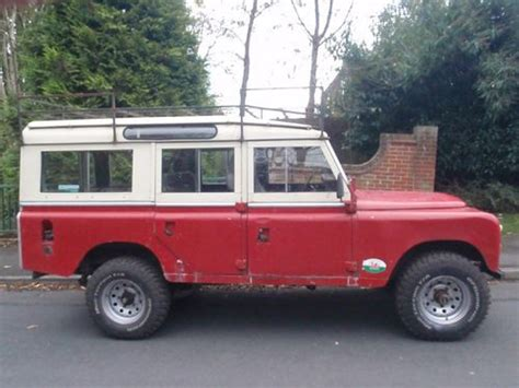 land rover safari roof 1968 land rover series 2a lwb safari roof station wagon 5