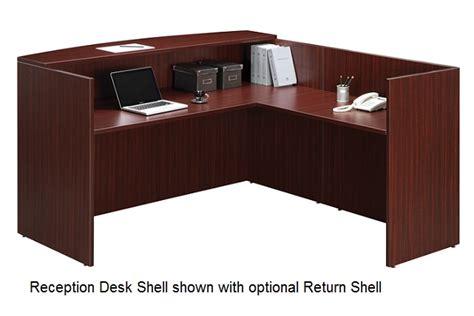 Ndi Office Furniture Reception Return Shell Pl180 Reception Desk Shell