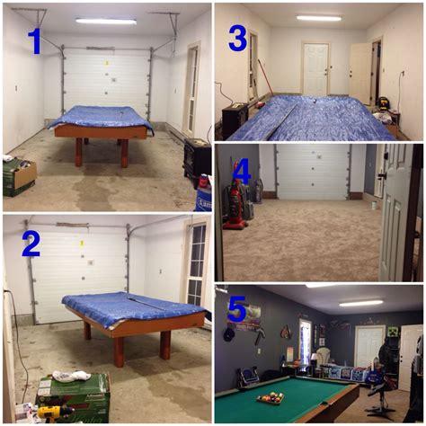 garage conversion     car garage   husband