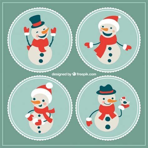 imagenes navidad redondas etiquetas redondas de mu 241 eco de nieve descargar vectores