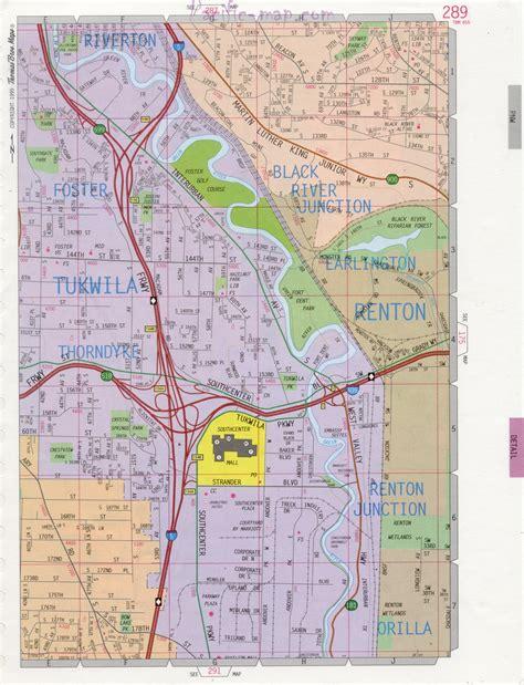 seattle map renton renton road map