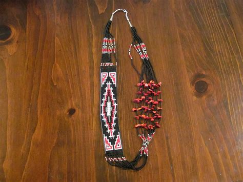 navajo beaded necklace www imgkid the image kid