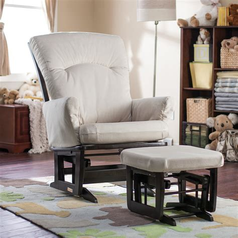 recliner gliders and ottomans for nursery bedroom attractive ottoman and nursery glider recliner