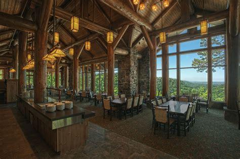 park room restaurant go for the trails arkansas outside