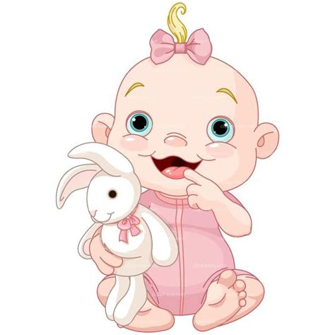 clipart baby baby clipart baby with rabbit