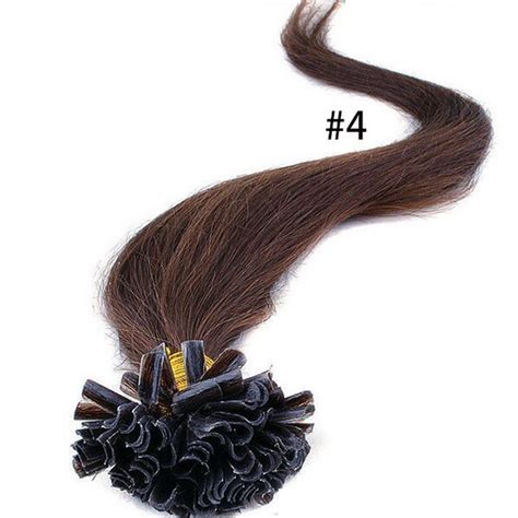 16inch 4 remy u tip keratin human real hair extension