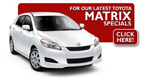 Toyota Matrix Lease Deals New 2016 2017 Toyota Special Offers Wichita Ks