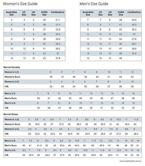 size conversion chart shoes shoe conversion size chart household secrets hints