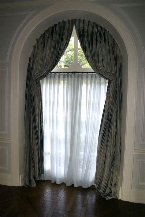 arch curtains arched window treatments glamorous curtains for high