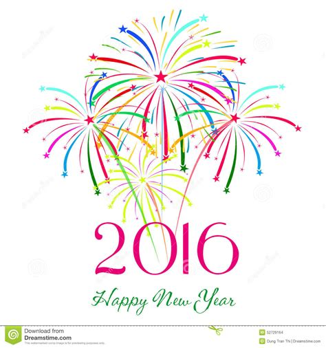 new year celebrations clip happy new year 2016 with fireworks background